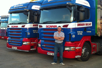 Johnsons Haulage is helped by Specific Risk Credit Insurance from Peter Hill Credit